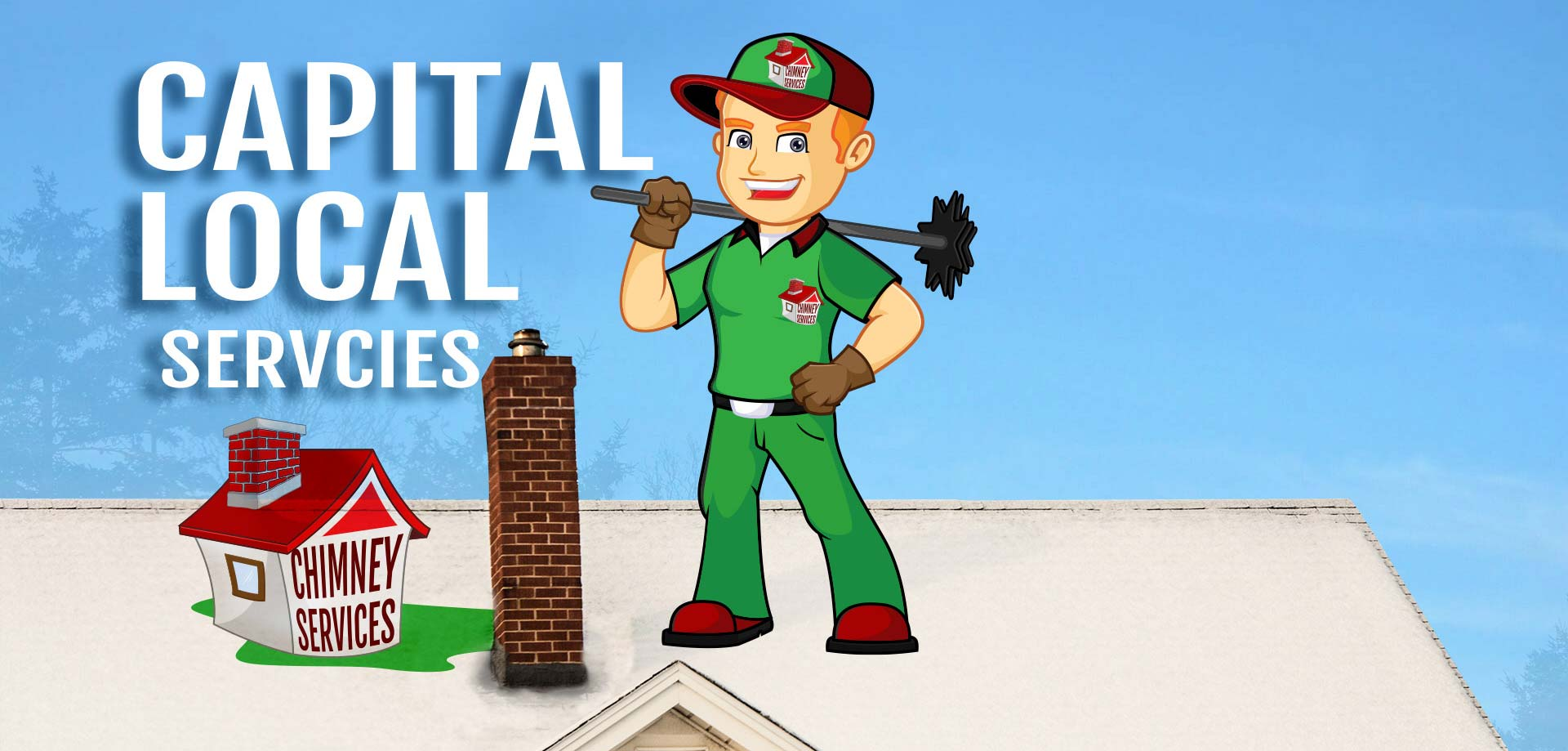 chimney sweeping and clean up